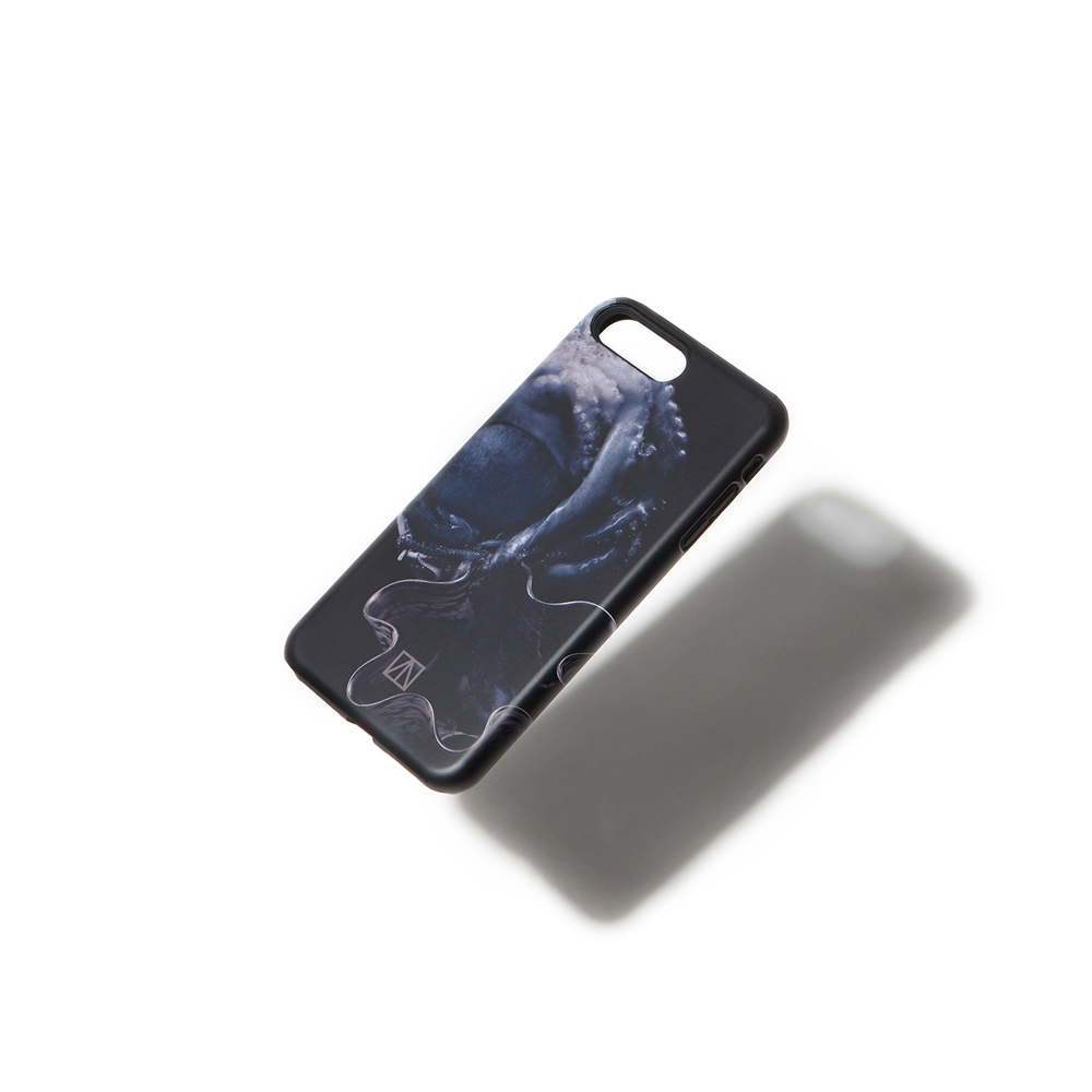 KEEP B [ BLUE OCTOPUS ] 20160301 _ iPHONE7+ CASE_Black